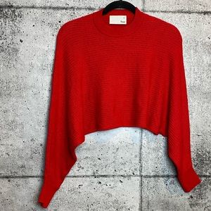 Aritzia // Wilfred Free / Lolan Sweater Red Small